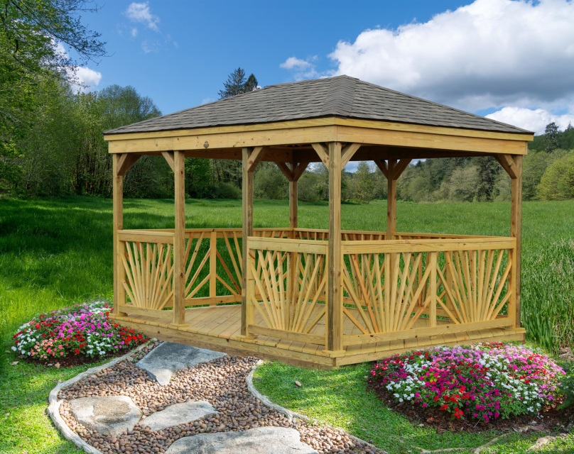 LakeSide Sheds - Treated Collection - Gazebo