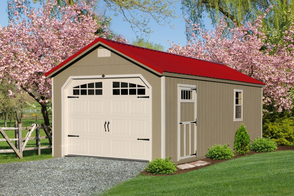Premier Collection - Garden Shed Garage