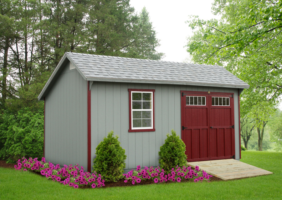 Premier Collection - Saltbox Shed
