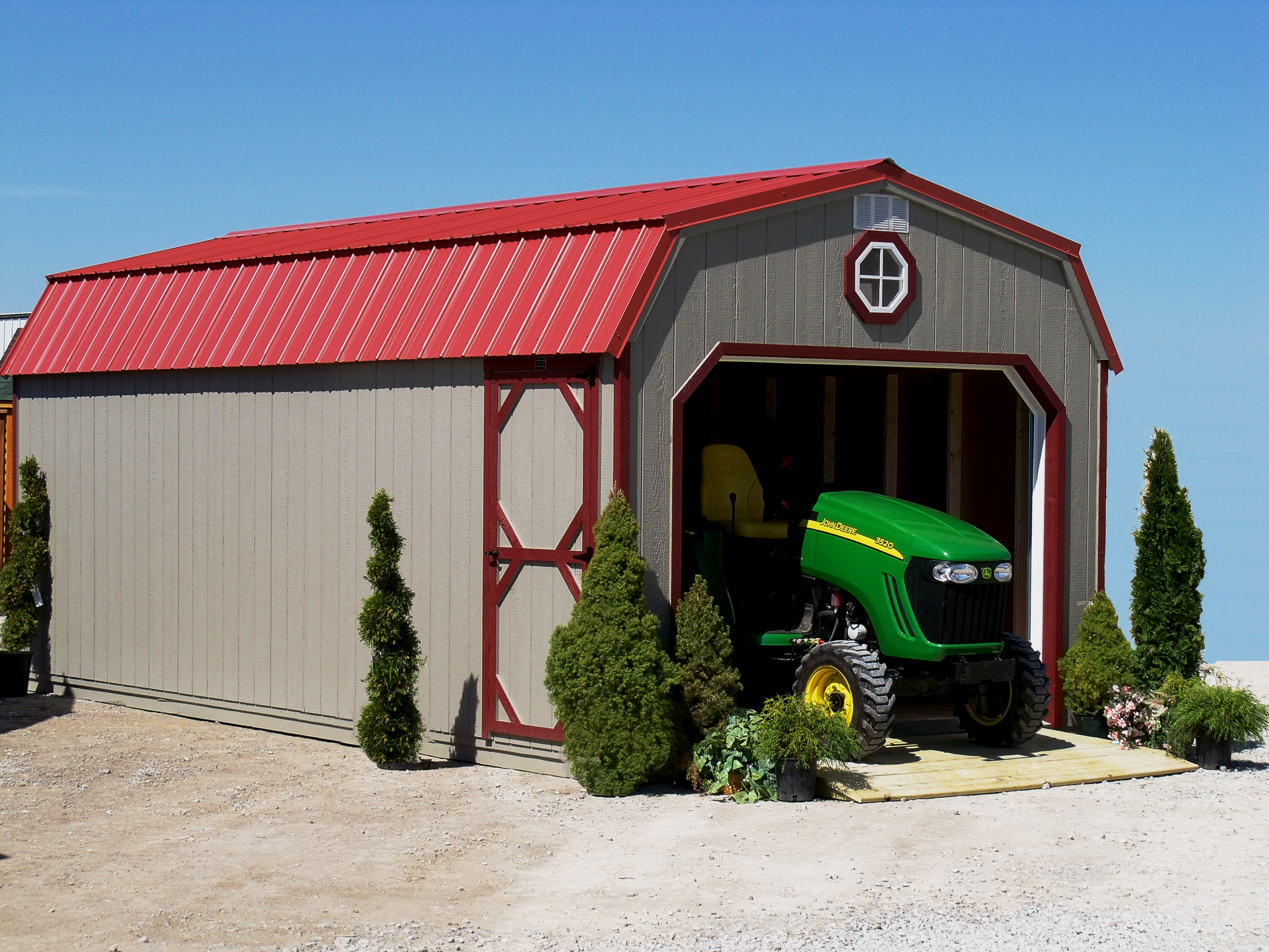 Premier Collection - Hi-Wall Barn Garage