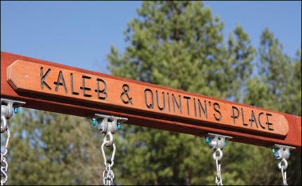 Playset Signs