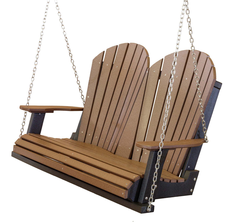 Wildridge Poly Vinyl Furniture Heritage 2 Seat Porch Swing