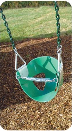 Half Bucket Swings