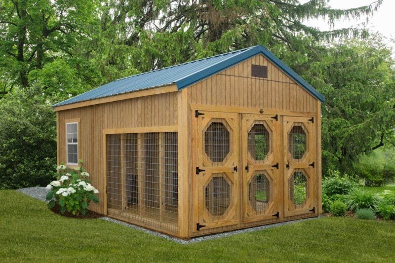 LakeSide Sheds Treated Collection - Dog Kennel