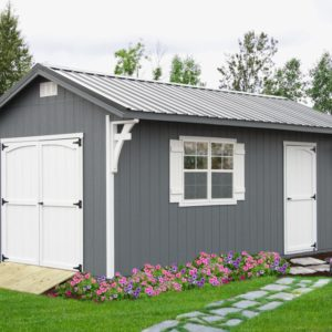 LakeSide Cabins & Sheds Carriage House Shed
