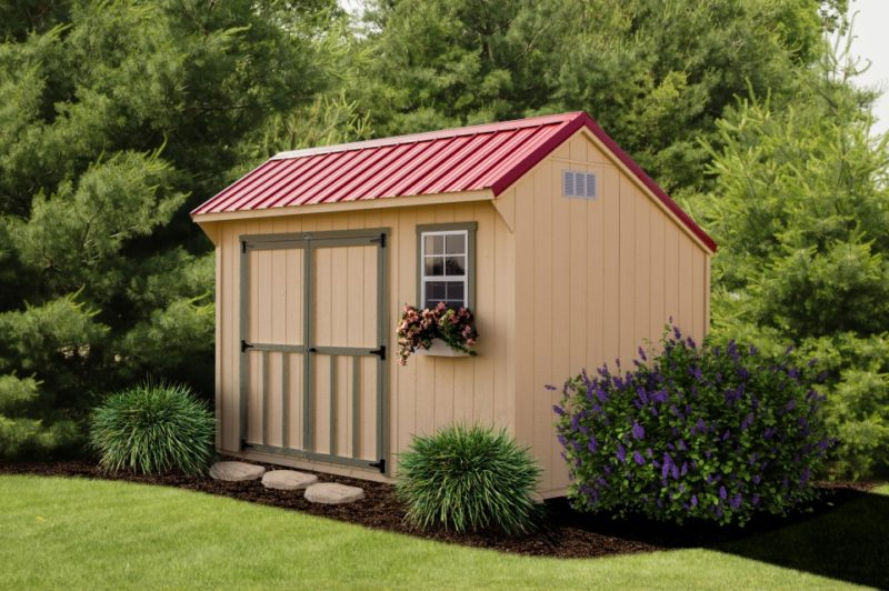 Standard Collection Saltbox Shed