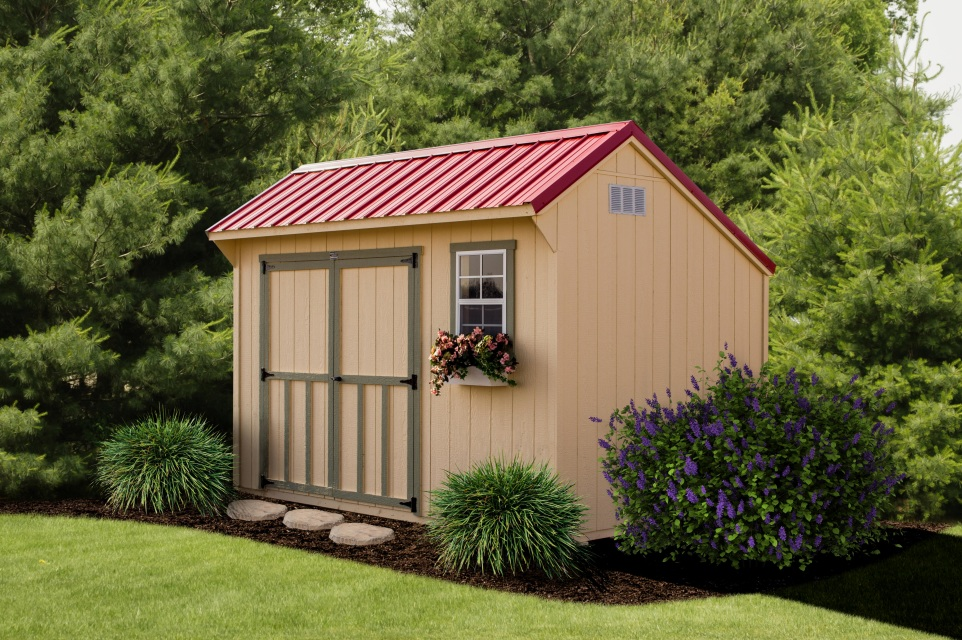 Lakeside Sheds Saltbox Shed Standard Collection Wooden