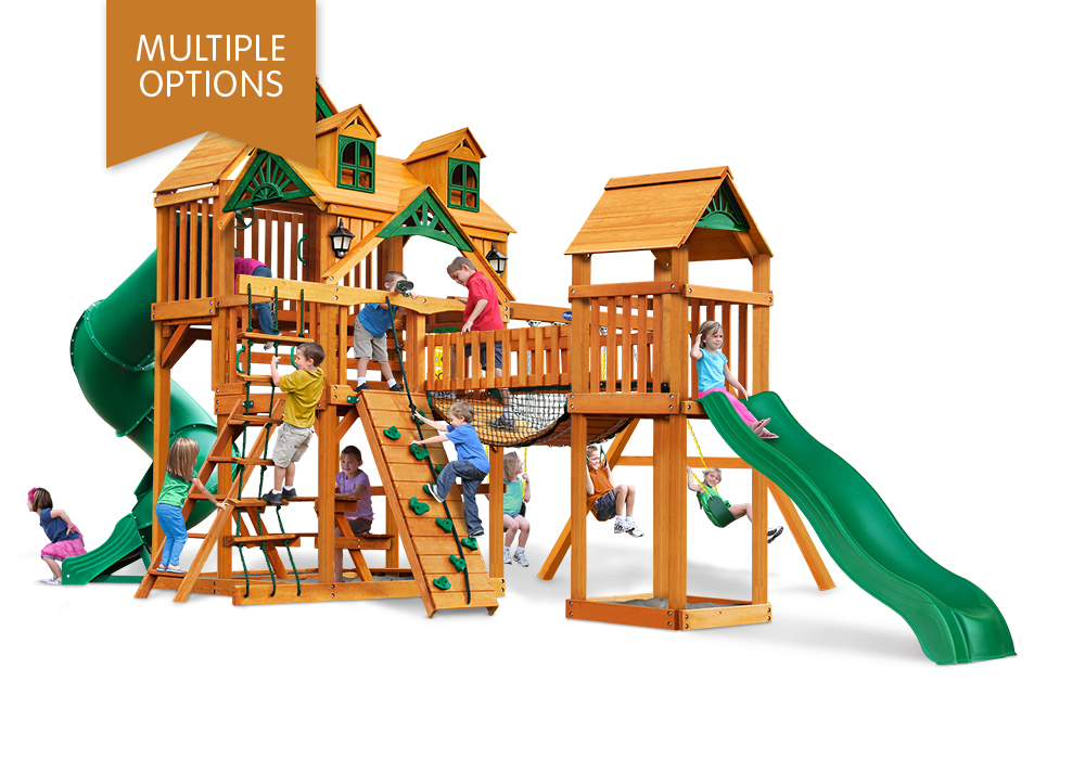 Playnation Swing Sets Reserve I Wooden Playset Boxed